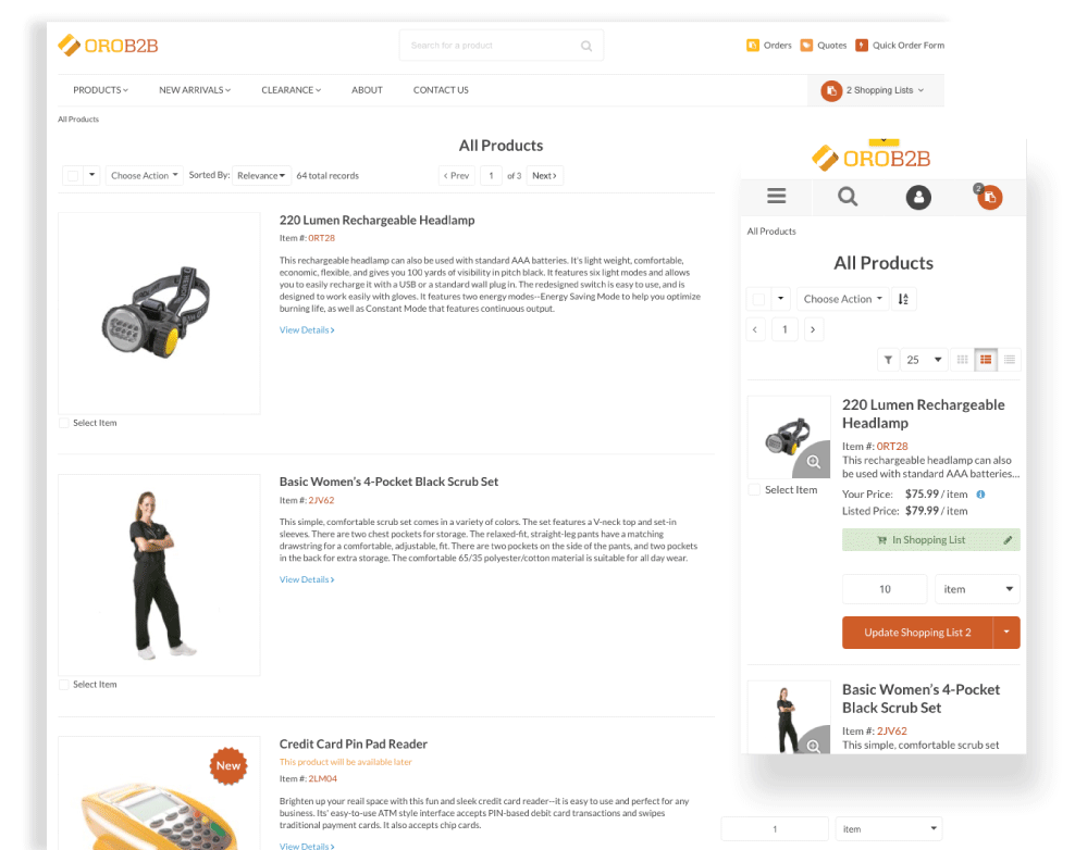 OroCommerce_Page